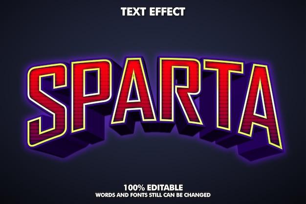 Efeito de texto 3d e-sport Vetor grátis