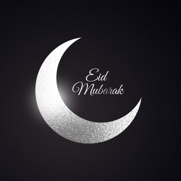 Eid mubarak fundo bonito Vetor grátis