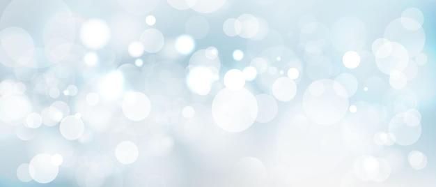 Elemento de luz de desfoque abstrato que pode ser usado para o fundo decorativo do bokeh. Vetor Premium