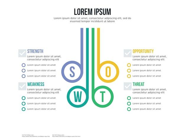 Elemento de transferência e modelo de apresentação Vetor Premium