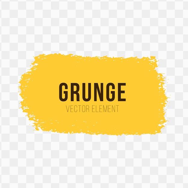 Elemento do vetor de grunge Vetor grátis