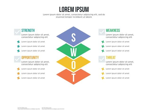 Elemento infográfico e modelo de apresentação Vetor Premium