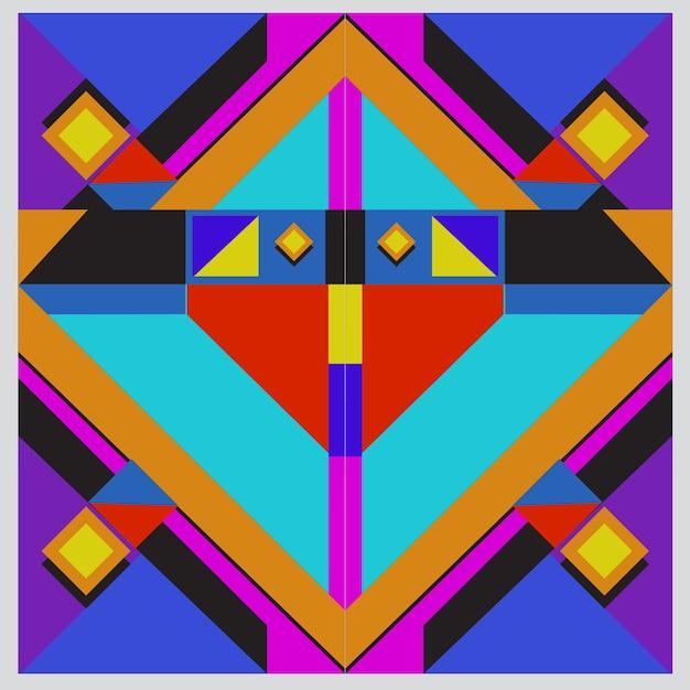Elementos geométricos na moda memphis design de cartões de saudação. textura, padrão e elementos de estilo retro. pôster de design abstrato e modelo de capa modernos Vetor Premium
