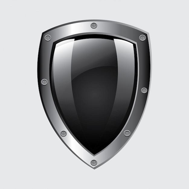 Emblema de segurança Vetor grátis