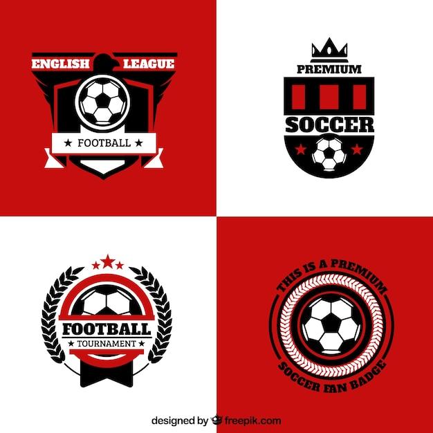 Emblemas Do Futebol Inglês Baixar Vetores Grátis