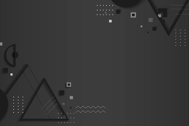 Espaço criativo design geométrico Vetor grátis