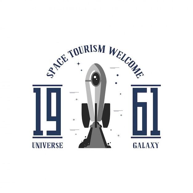Espaço um banner Vetor Premium