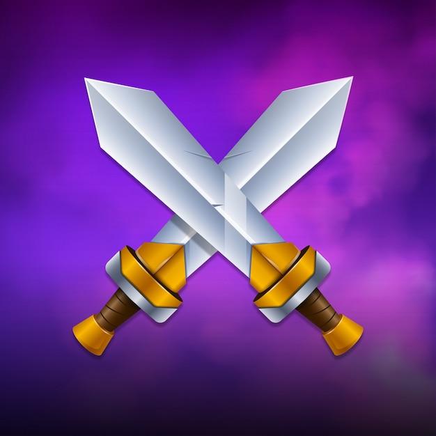 Espadas Vetor Premium