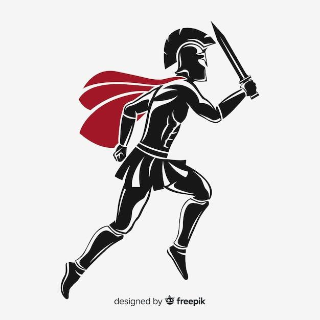 Espartano Vetor grátis