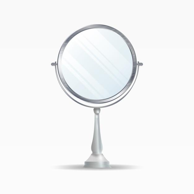 Espelhos realistas Vetor Premium