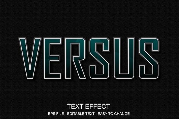 Estilo de esporte de efeito de texto editável Vetor Premium