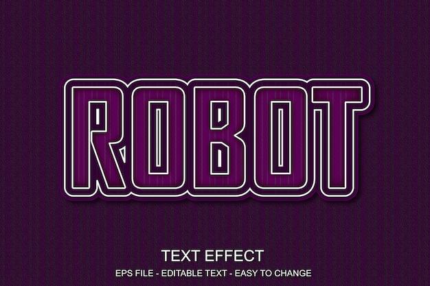 Estilo de pop art de efeito de texto editável Vetor Premium