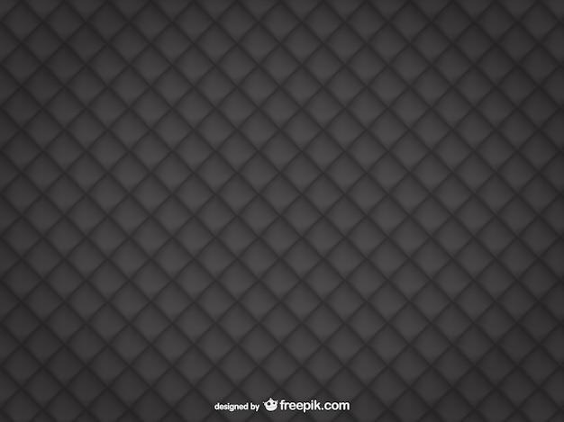 Estofos em couro preto fundo Vetor grátis