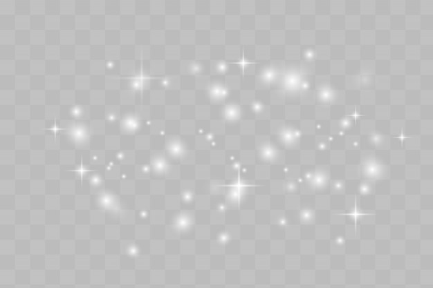 Estrelas brilhantes Vetor Premium