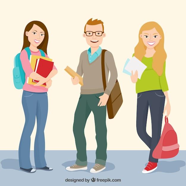 Estudantes Universitarios | Vetores e Fotos | Baixar gratis