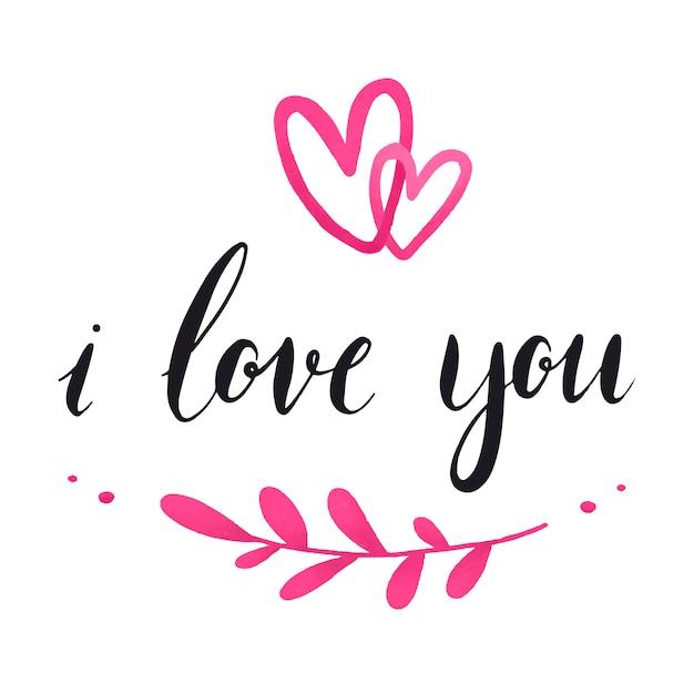 Eu te amo vetor de tipografia baixar vetores gr tis - I love you daddy download ...