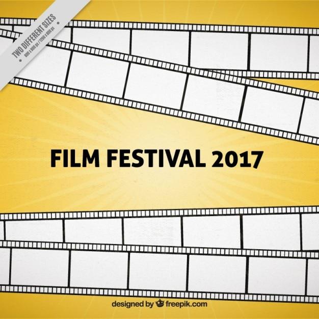 Evento de cinema 2,017 fundo Vetor grátis