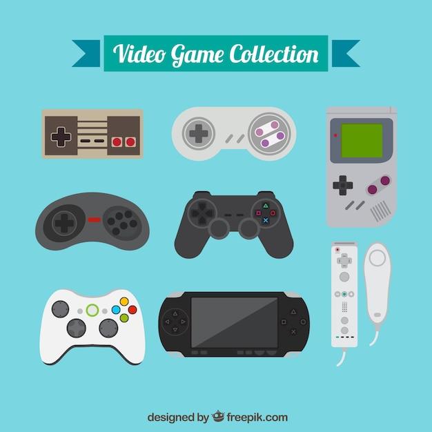 Evolução jogos de vídeo Vetor grátis