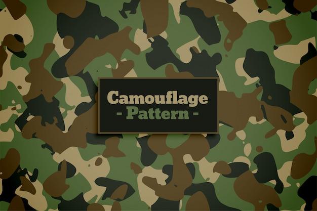 Exército e camuflagem militar textura de fundo Vetor grátis