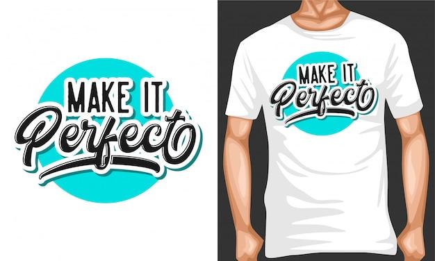 Faça citações perfeitas da tipografia Vetor Premium