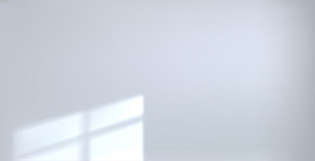 Feixe de sala branca vazia de fundo Vetor Premium