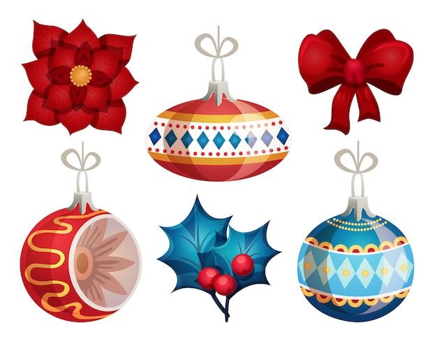 Feliz ano novo e feliz natal Vetor Premium