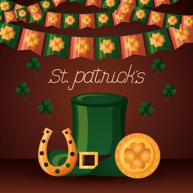 Feliz dia de st.patrick Vetor grátis