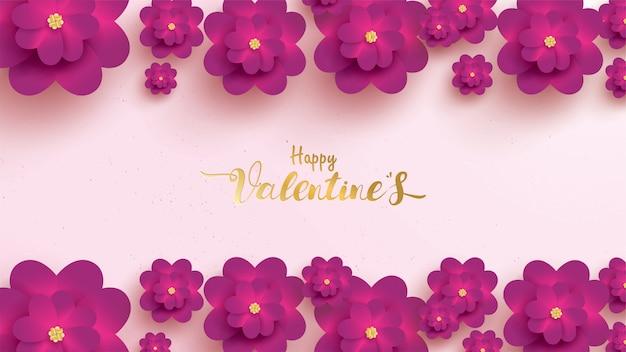 Feliz dia dos namorados cartão Vetor Premium