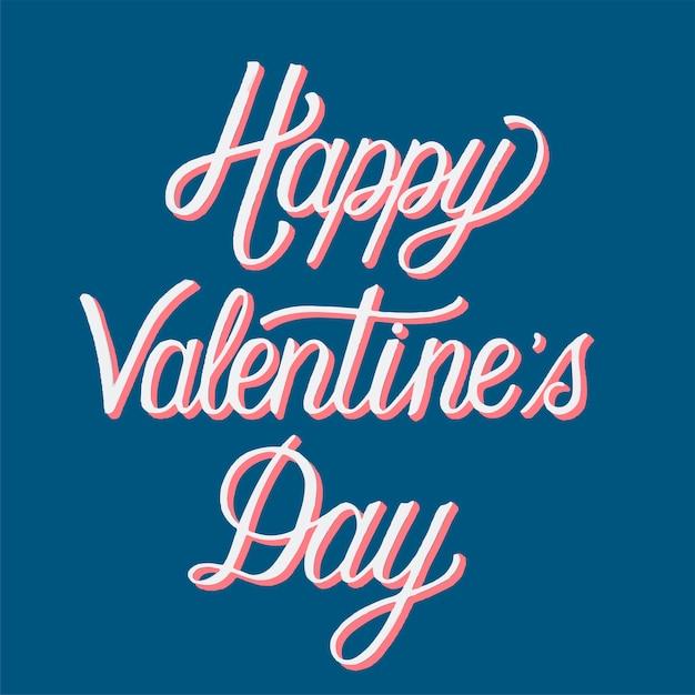 Feliz dia dos namorados tipografia Vetor grátis