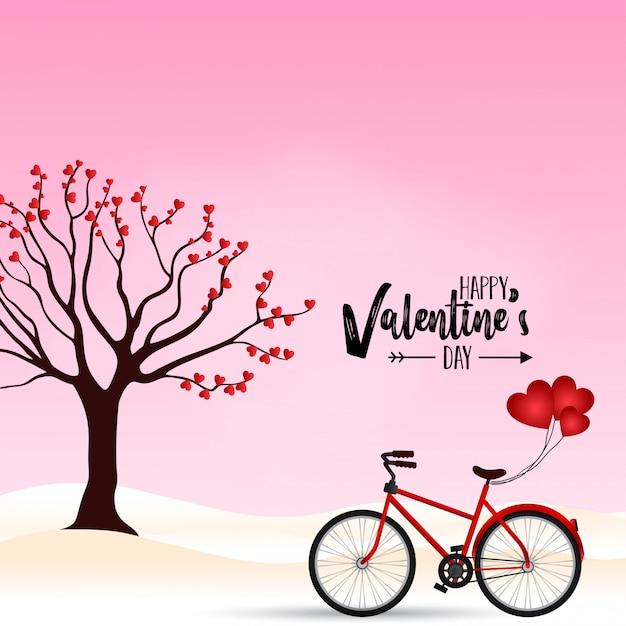 Feliz dia dos namorados vetor Vetor Premium