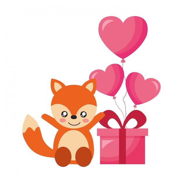 Feliz dia dos namorados Vetor Premium