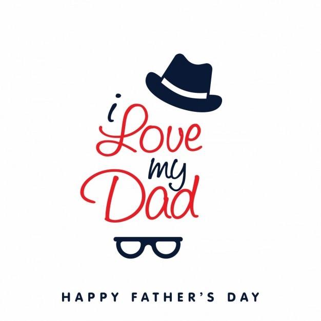 Feliz dia dos pais baixar vetores gr tis - I love you daddy download ...