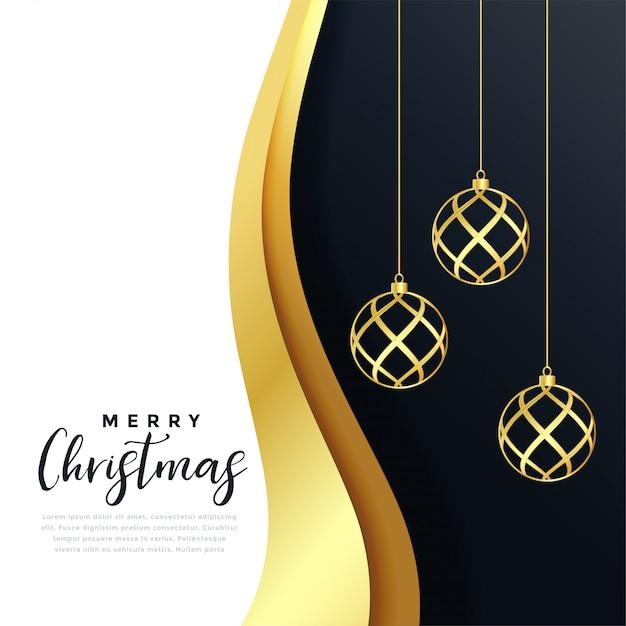 Feliz natal cartão Vetor grátis