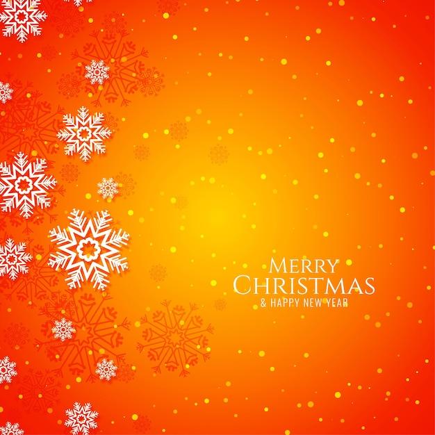 Feliz natal decorativo festivo fundo brilhante Vetor grátis
