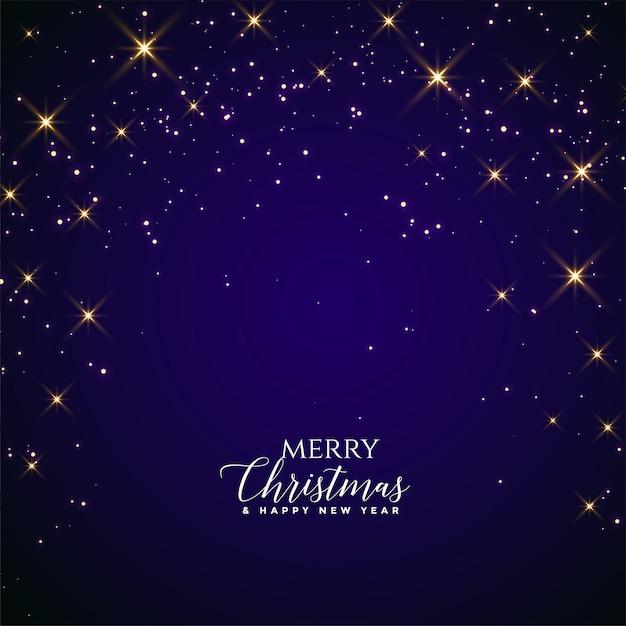 Feliz natal e feliz ano novo cartão Vetor grátis