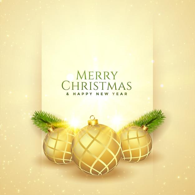 Feliz natal lindo festival saudação cartão de desenho Vetor grátis