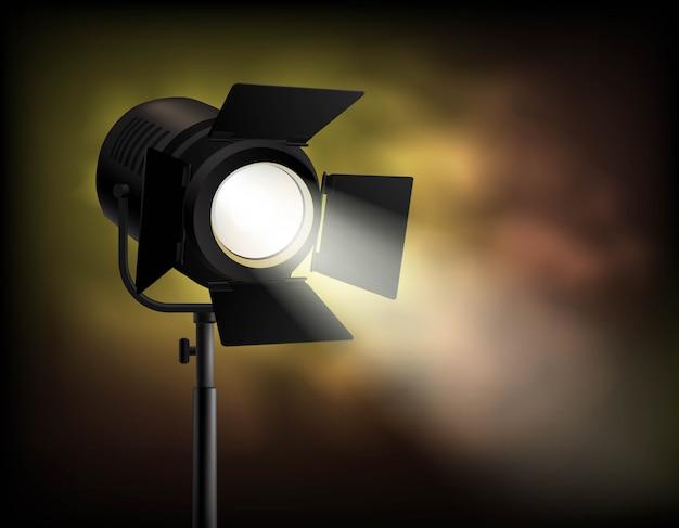 Filmagem cinematográfica clássica Vetor grátis