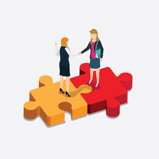 Finança de negócios Vetor Premium