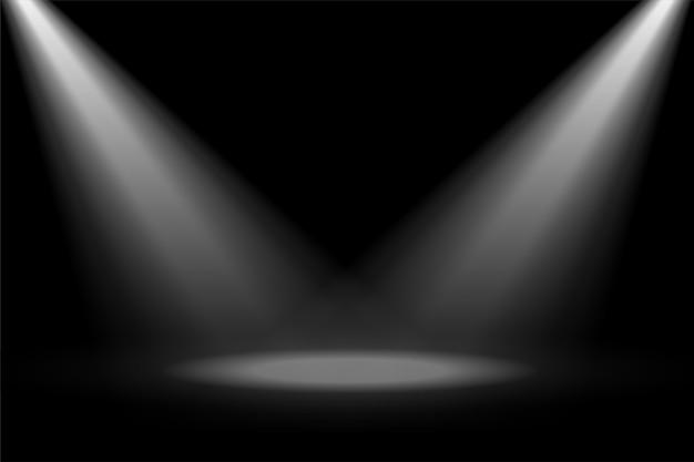 Foco de destaque do palco abstrato Vetor grátis