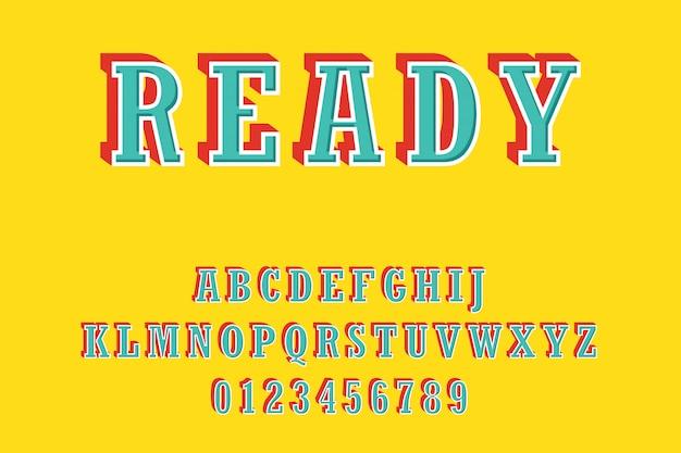 fe6c7ee8a Fonte moderna bold (realce) e alfabeto