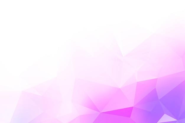 Formas abstratas de triângulos coloridos de baixo poli Vetor grátis