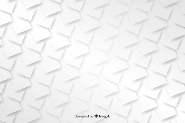 Formas geométricas em estilo de papel Vetor grátis