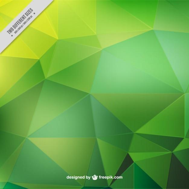 Formas geométricas fundo verde | Baixar vetores grátis