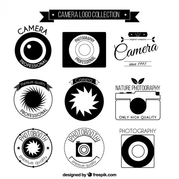 Foto logo camera colec o baixar vetores premium for Camera blueprint maker gratuito