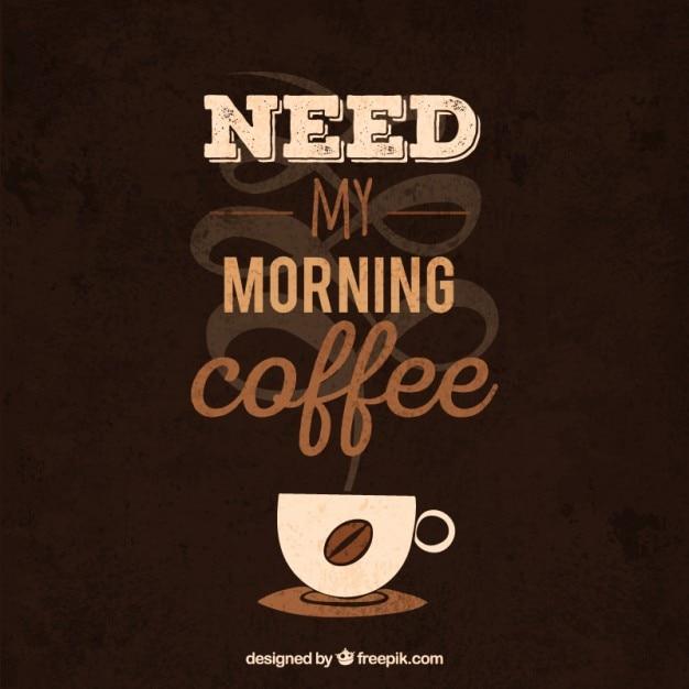 Super Frase café | Baixar vetores grátis FH82