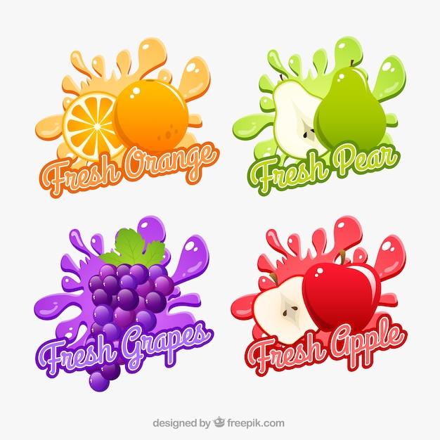 frutas frescas baixar vetores gr225tis