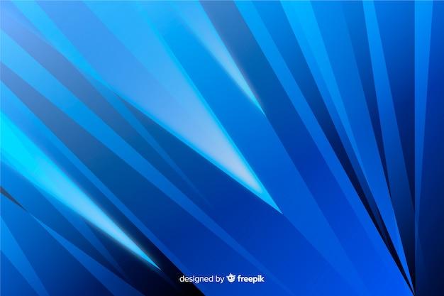 Fundo abstrato azul formas diagonais Vetor grátis