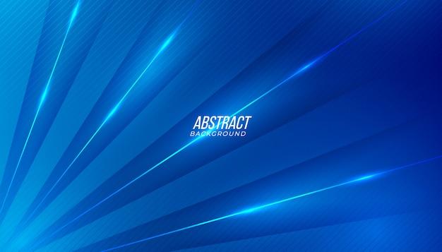Fundo abstrato azul moderno. Vetor Premium