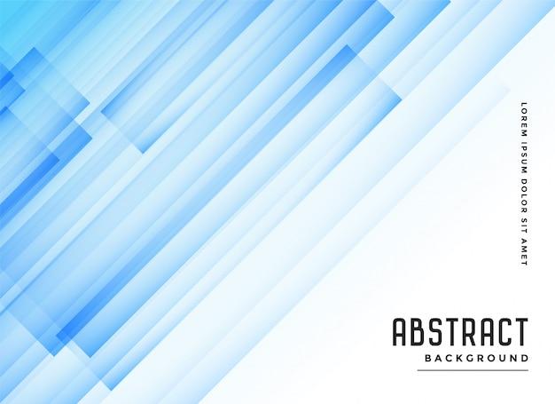 Fundo abstrato azul transparente linhas diagonais Vetor grátis