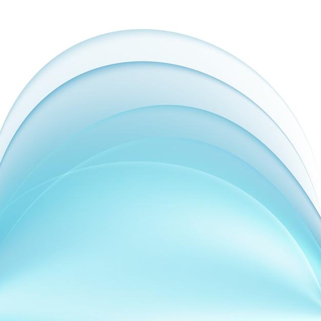 Fundo abstrato azul Vetor grátis